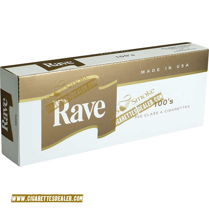 Rave Gold 100's Box