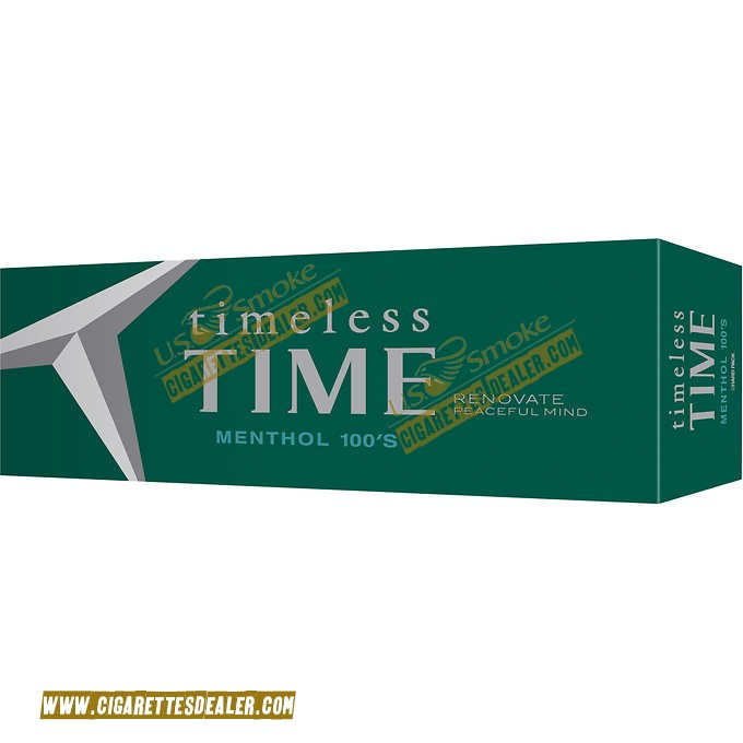 Timeless Time Menthol 100 Box
