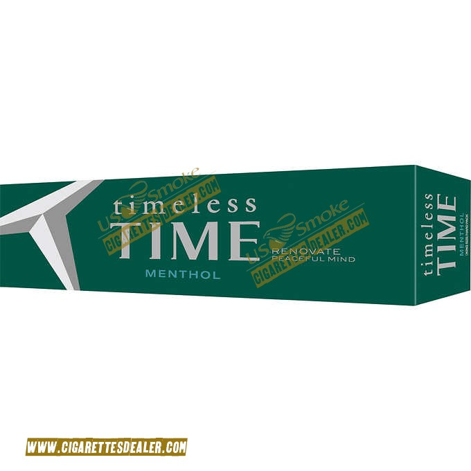 Timeless Time Menthol King Box