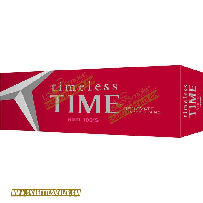 Timeless Time Red 100 Box