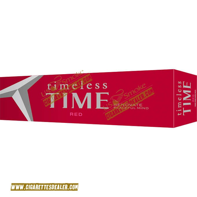 Timeless Time Red King Box