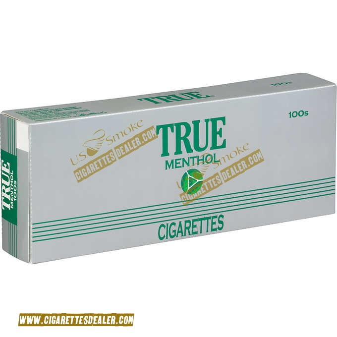 True Green Menthol 100's Box