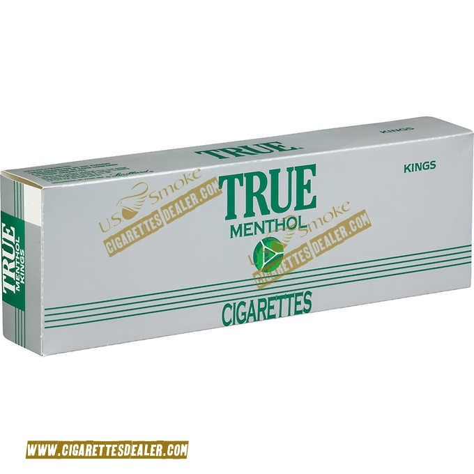 True Menthol Kings Soft Pack