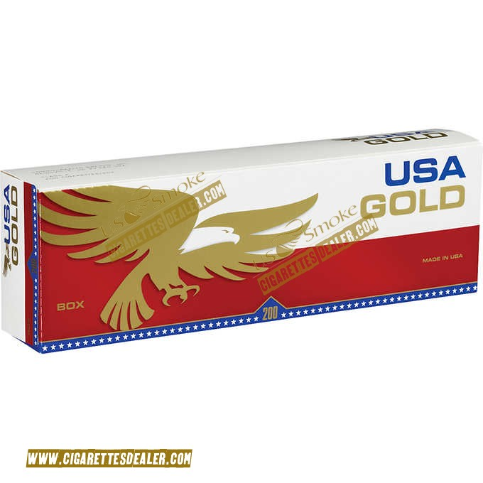 USA Gold Red Kings Box