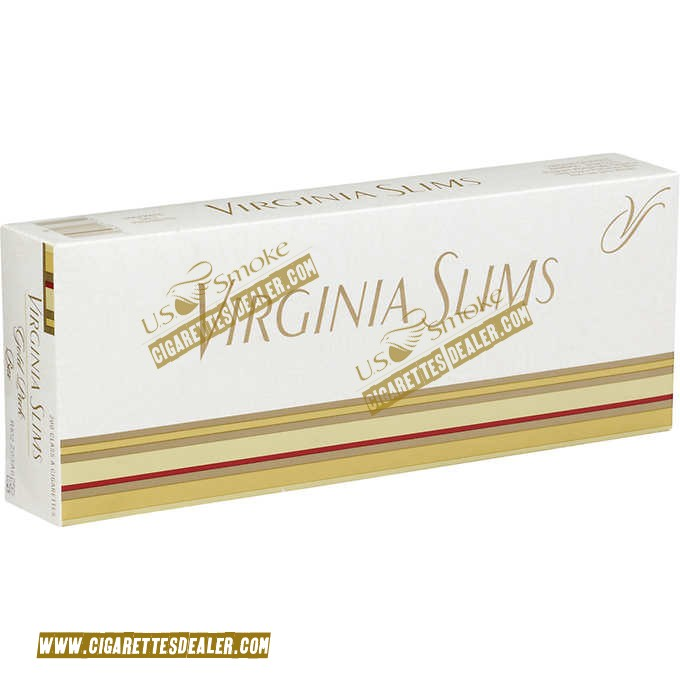 Virginia Slims Gold Pack Box