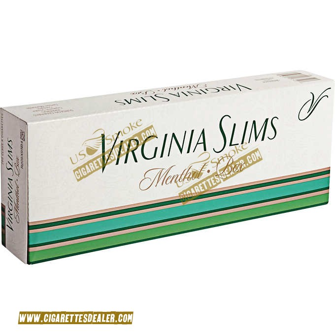 Virginia Slims Menthol 100's Box