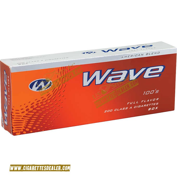 Wave Red 100's Box