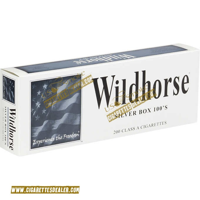Wildhorse Silver 100's Box
