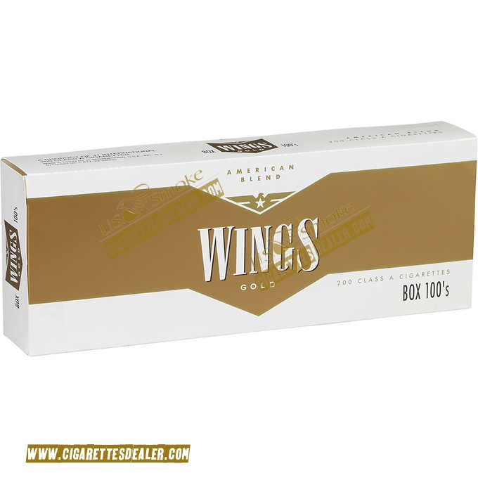 Wings Gold 100's Box