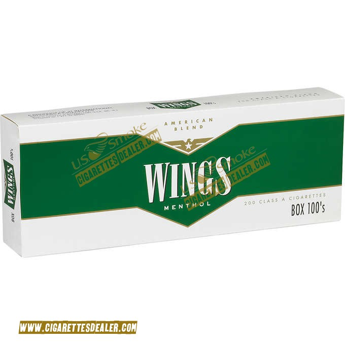 Wings Menthol 100's Box