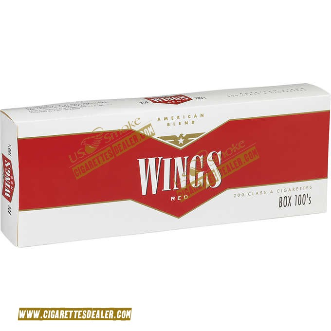 Wings Red 100's Box